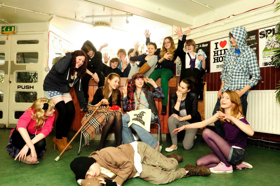 Love Drama's Five Minute 'protest' piece back in 2012 live at the Bongo Club! Katie (blogger) and Rachel (mum) were both in this.